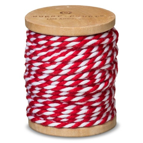 sugar-paper-red-white-bakers-wrapping-twine-ribbon-holiday