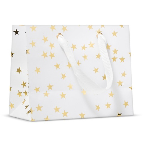 sugar-paper-white-with-gold-stars-gift-bag-holiday