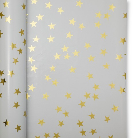 sugar-paper-white-with-gold-stars-wrapping-paper-giftwrap-holiday