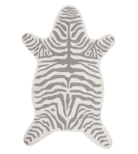 zebra-shaped-rug-gray