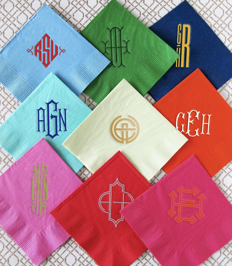 erin-haines-monogrammed-cocktail-napkins-personalized-stationery-graphic-design