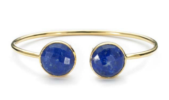 lapis-stone-bangle-bracelet-gold