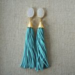 Best of Etsy: St. Raine Beaded Tassel Earrings