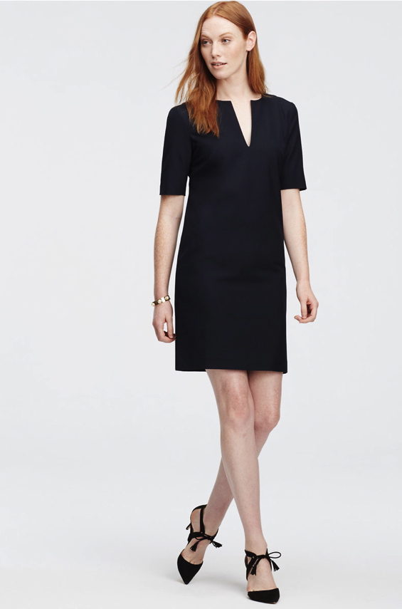 black-shift-dress