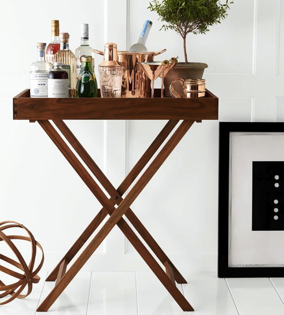 butler-tray-and-stand-bar-cart-wood