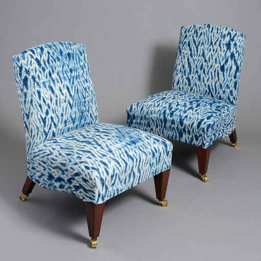 carolina-irving-and-penny-morrison-london-showroom-shop-ikat-slipper-chairs