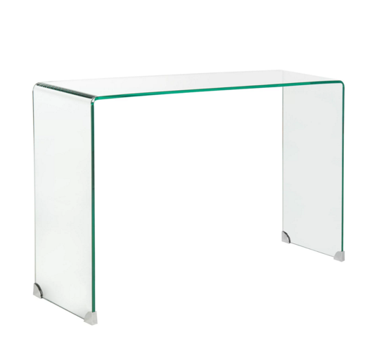 clear-glass-console-table