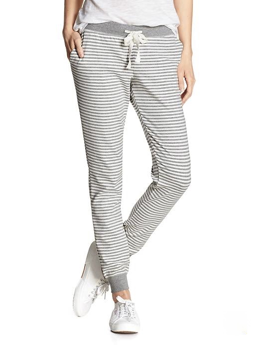 grey-white-stripe-sweatpants-lounge