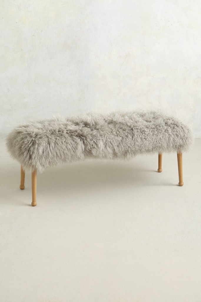 luxe-fur-bench