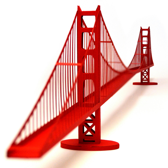 paper-landmarks-golden-gate-bridge-san-francisco-california