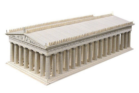 paper-landmarks-the-parthenon-athens-greece