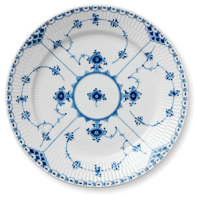 royal-copenhagen-blue-fluted-half-lace-dinner-place-china-porcelain-denmark-danish-design