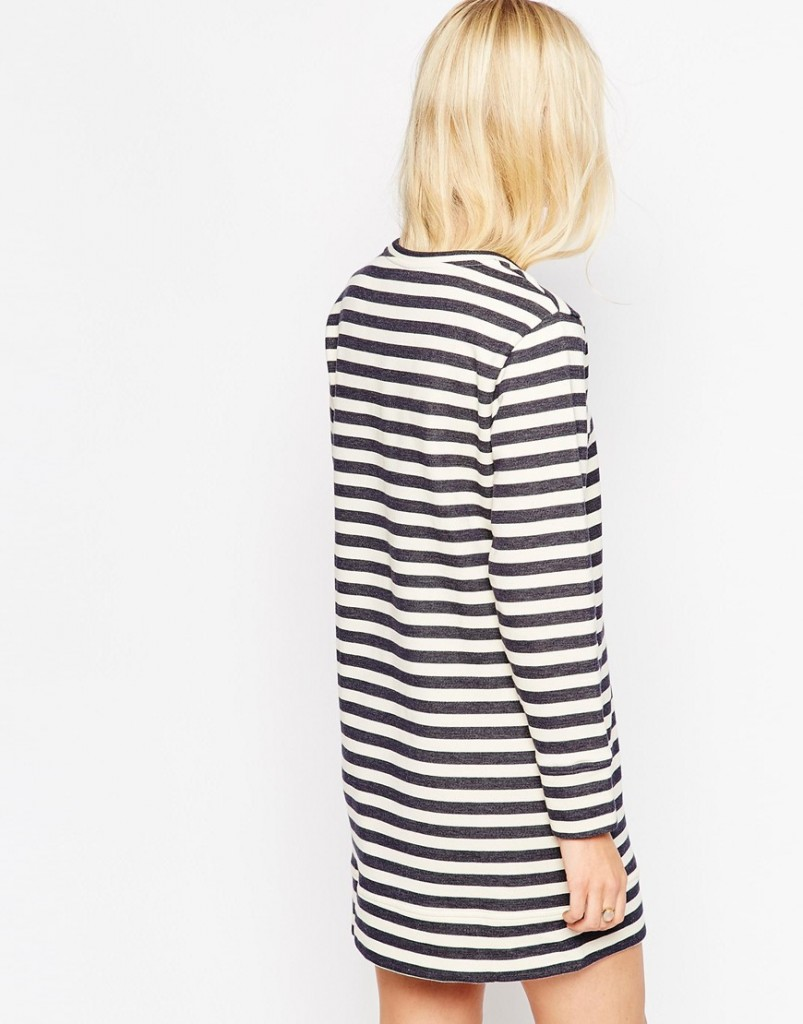 stripe-sweatshirt-dress-shift-asos