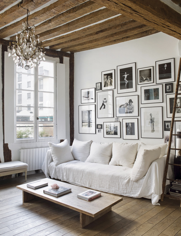 Matthew Brookes Parisian Apartment Rustic Minimalist 0
