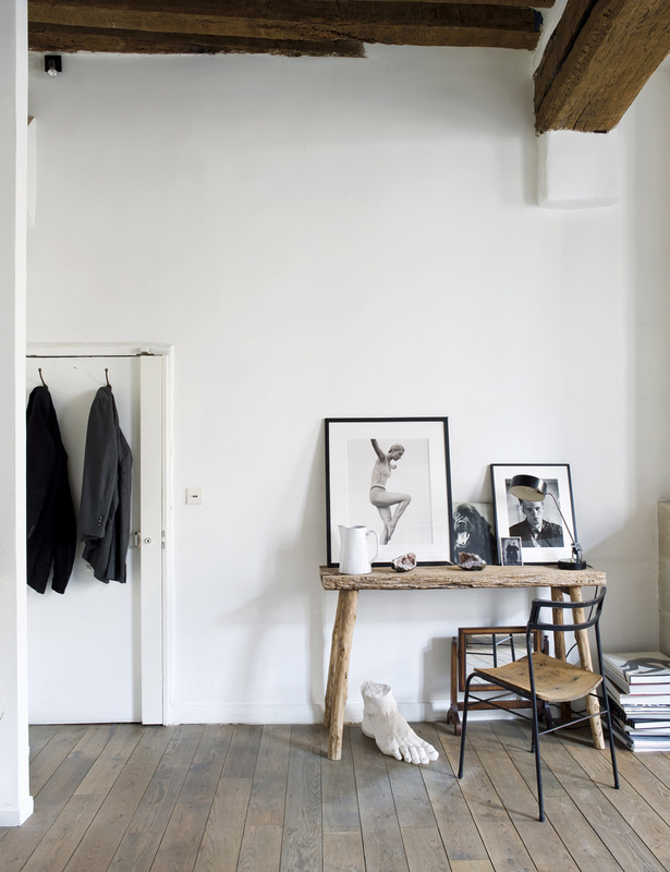 Matthew Brookes Parisian Apartment Rustic Minimalist 2