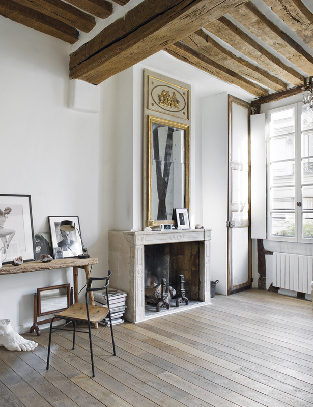 Matthew Brookes Parisian Apartment Rustic Minimalist 3