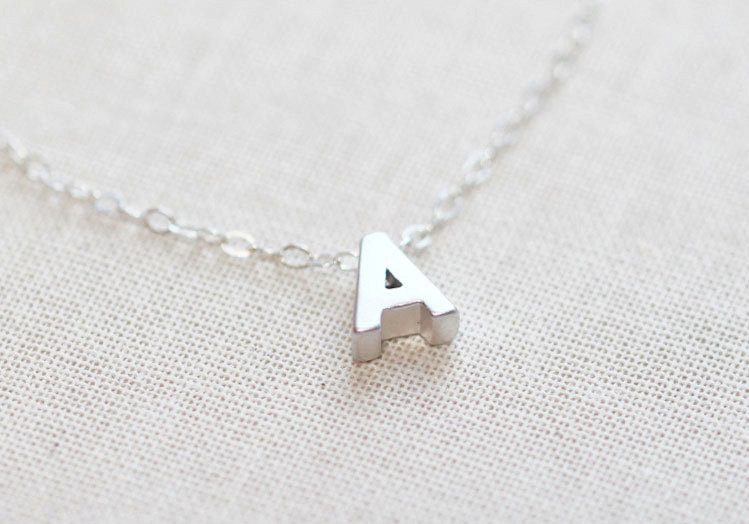 amanda-deer-jewelry-dainting-silver-necklace-etsy-initial-a1