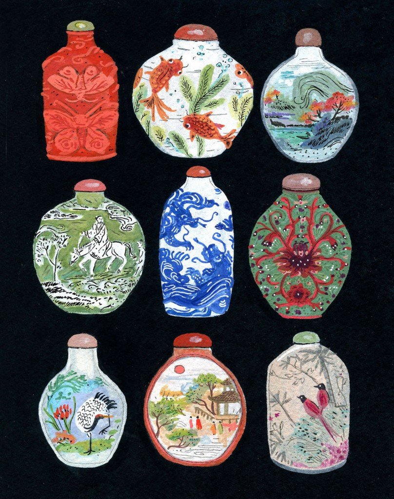 asian-snuff-bottles-illustration-painting-etsy
