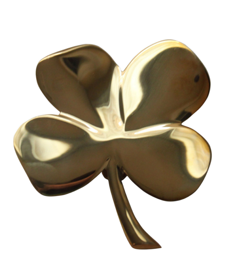 brass-four-leaf-clover-irish-door-knocker