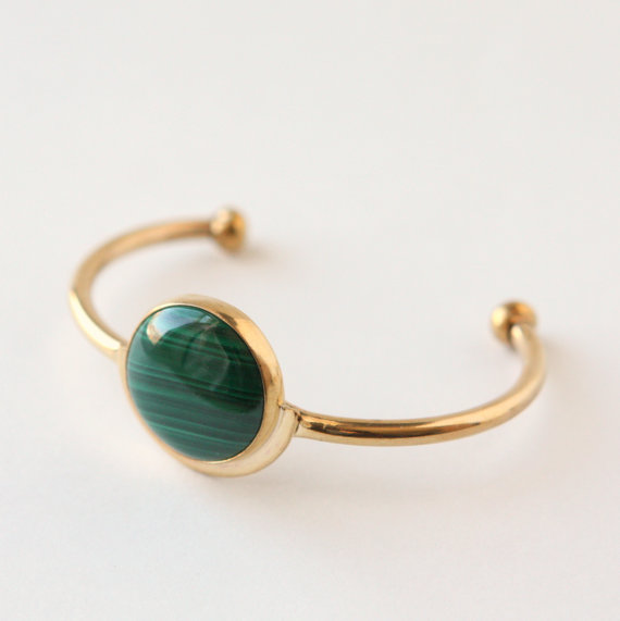 brass-malachite-bracelet-cuff-handmade-powers