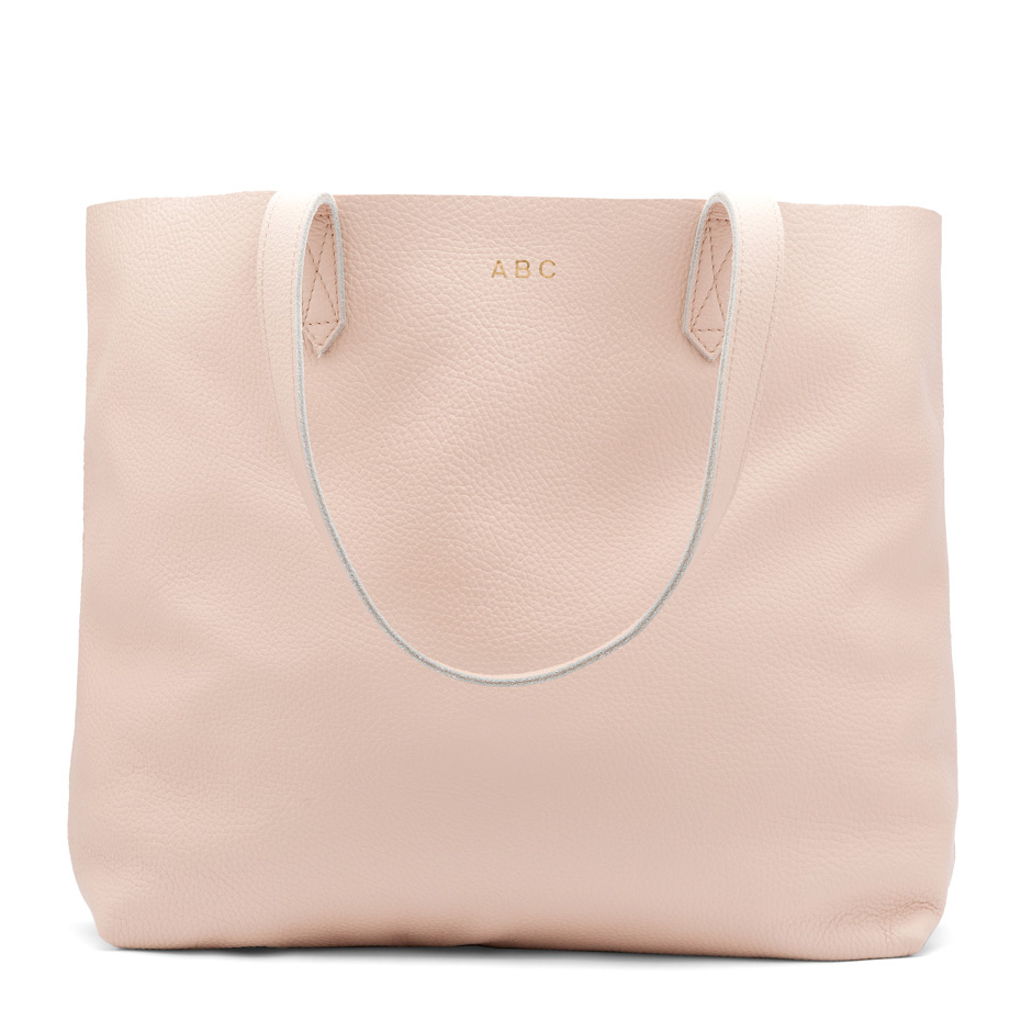 cuyana-leather-tote-blush-pink-monogrammed
