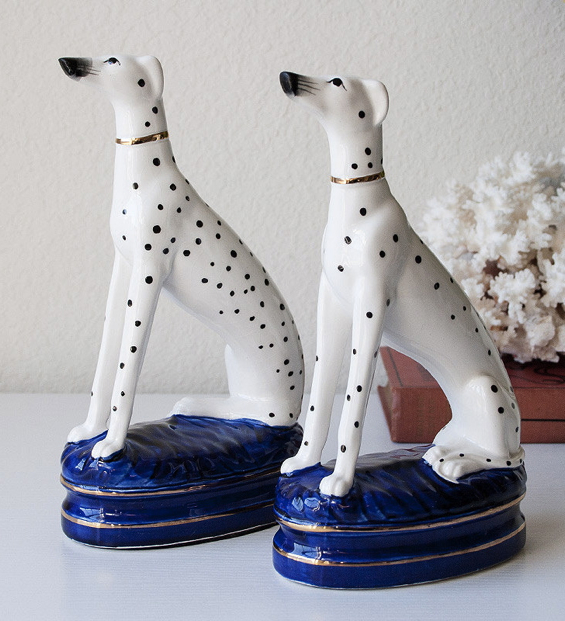 dalmatian-ceramic-bookends-statues-dog-pair