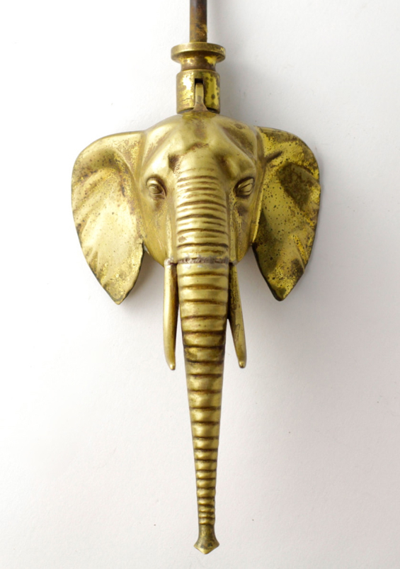 elephant-door-knocker-gold-vintage-brass