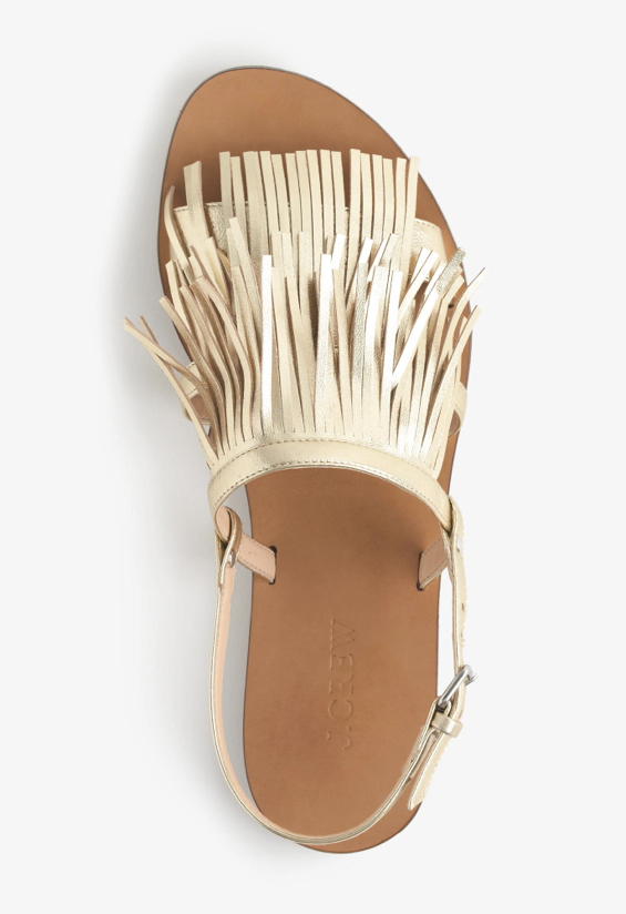gold-fringe-leather-flat-sandals-1