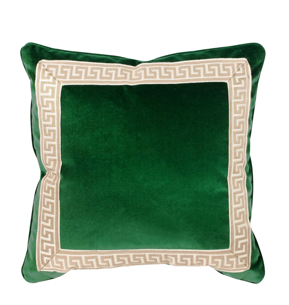 green-velvet-greek-key-pillow-throw