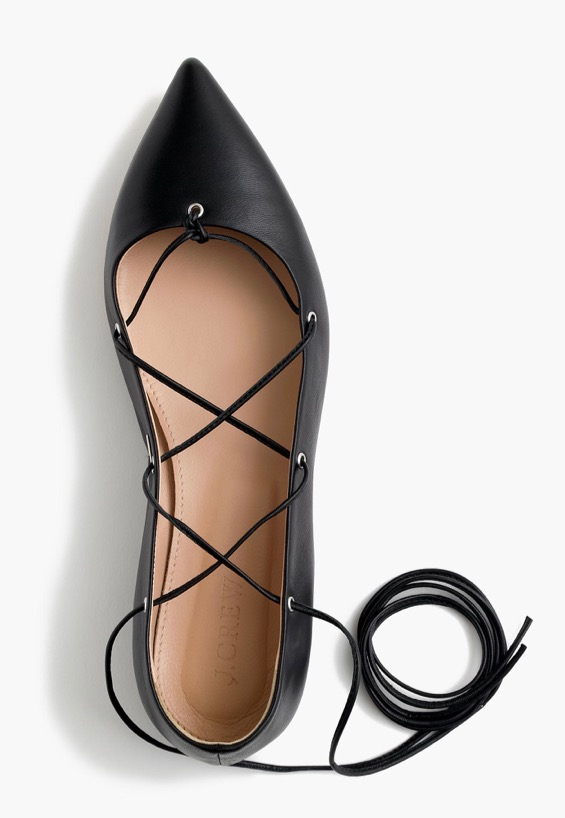 leather-lace-up-ballet-flats