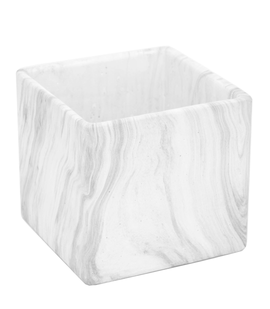marble-look-flower-planter