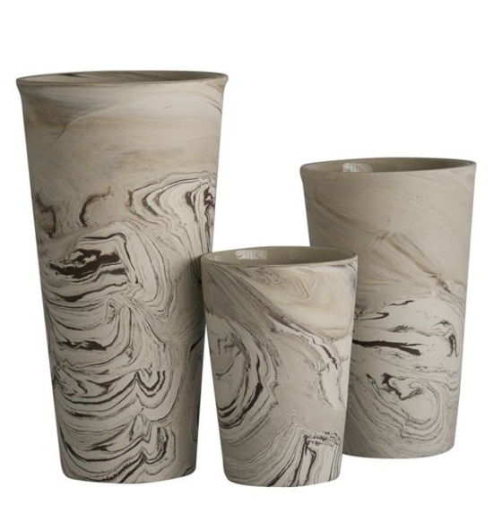 marbleized-ceramic-vases