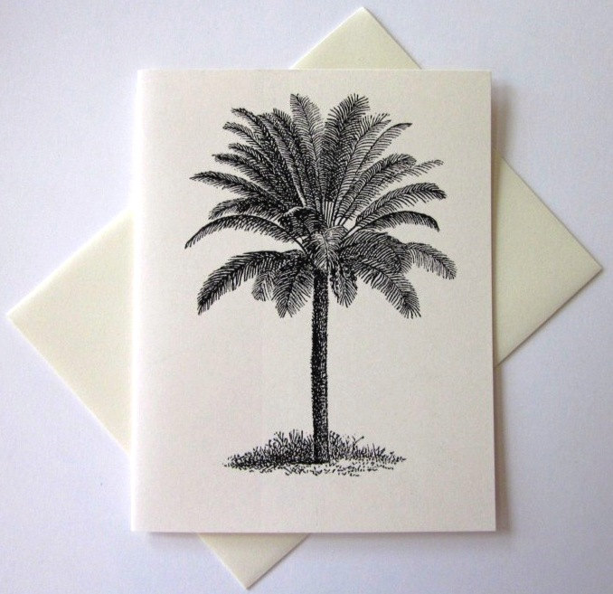 palm-tree-note-card-set-etsy-stationery