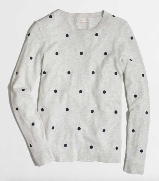 polka-dot-sweater