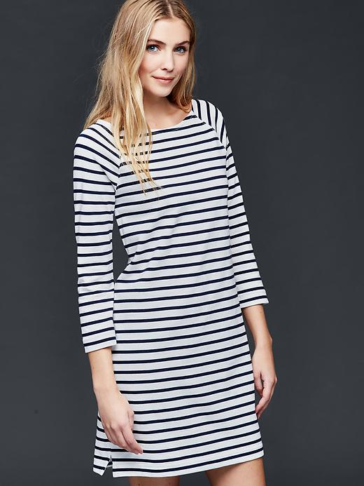 sailor-stripe-shift-dress