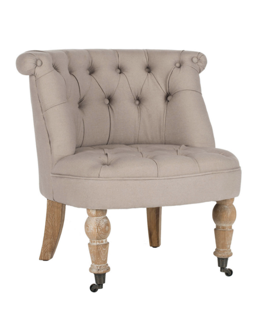 tufted-linen-chair