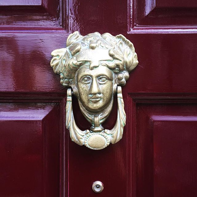 vintage-brass-door-knocker-london-katie-armour-instagram