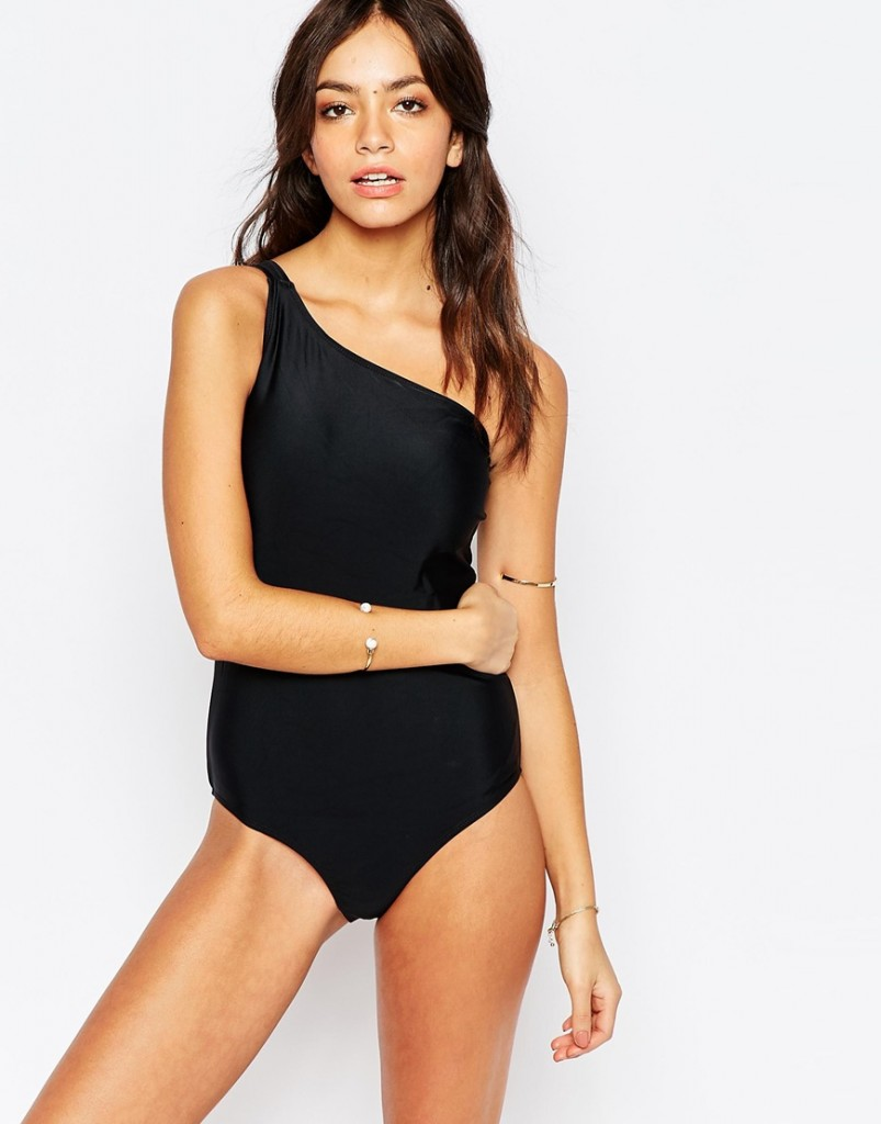 black-one-shoulder-one-piece-swimsuit-asos