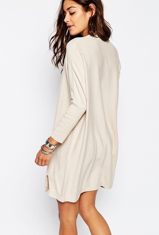 cashmere-mix-tunic-dress-white-asos