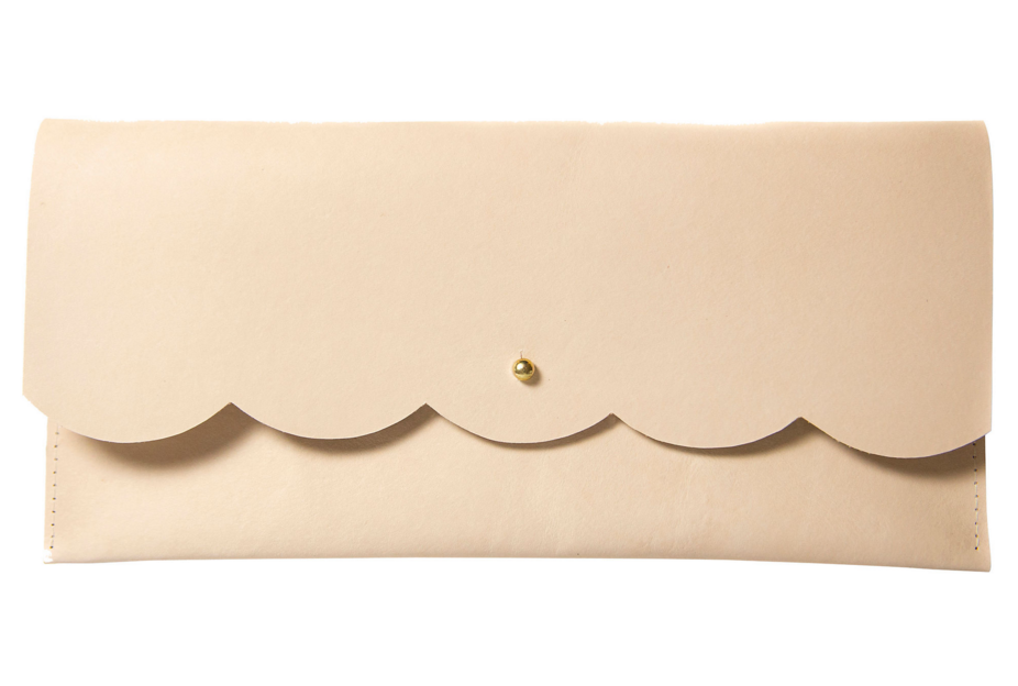 scallop-edge-leather-clutch