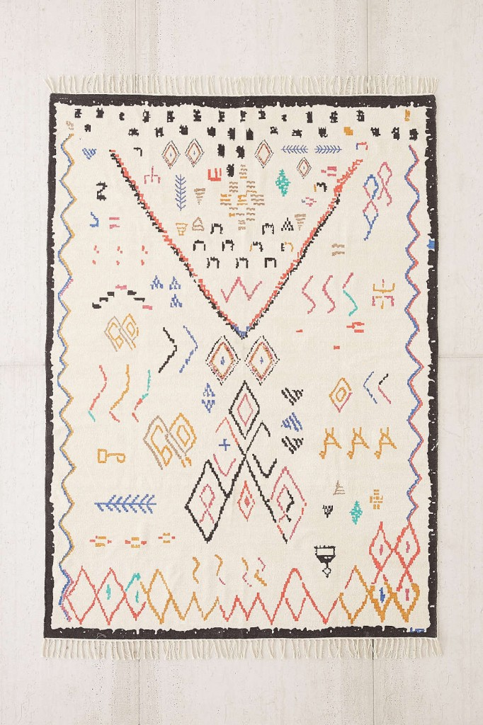 chenille-printed-rug-urban-outfitters-moroccan