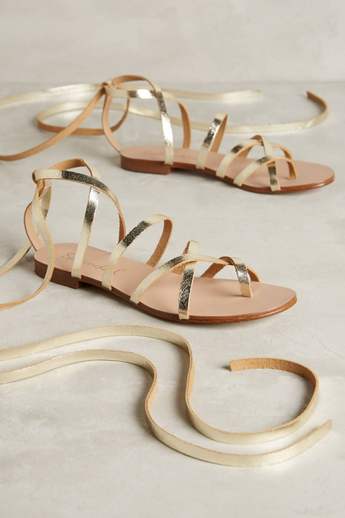 gold-leather-sandals