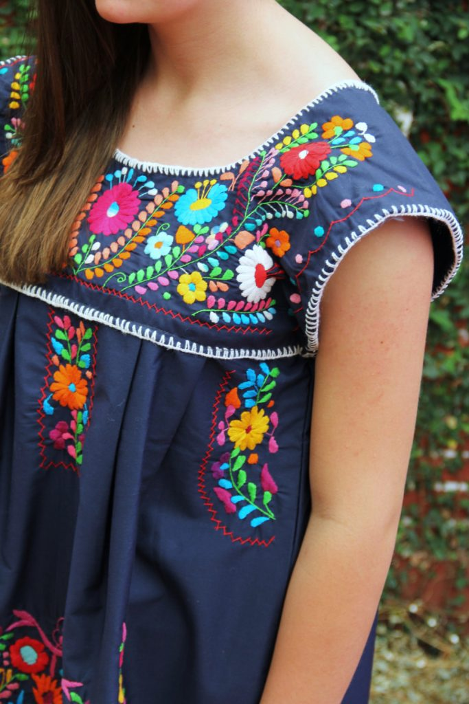 Casa Otomi Mexican Dress Etsy 2