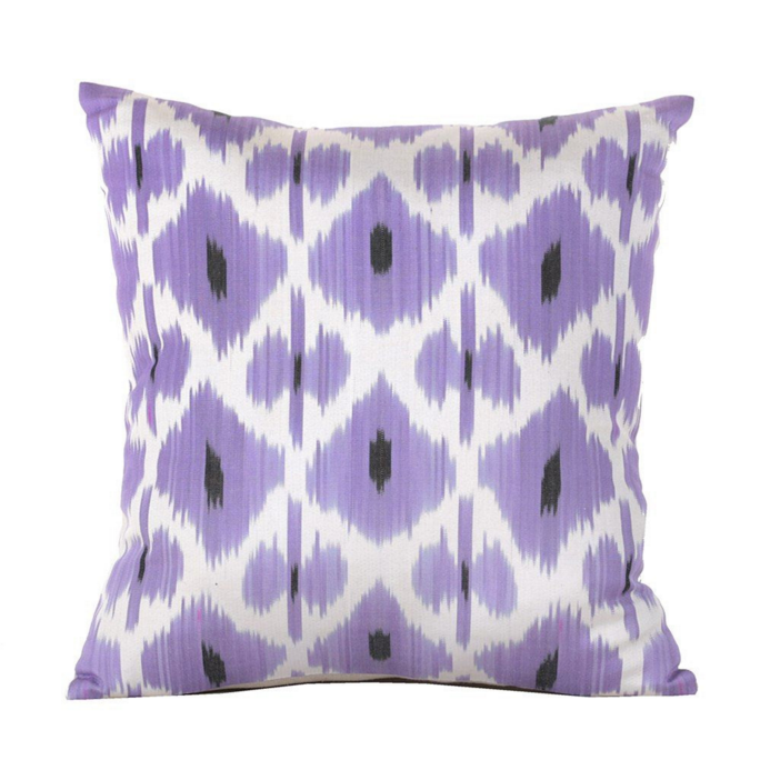 ikat-pillow-cover-lilac-lavender-purple-etsy-madeleine-weinrib
