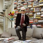 Karl Lagerfeld Has My Dream Library