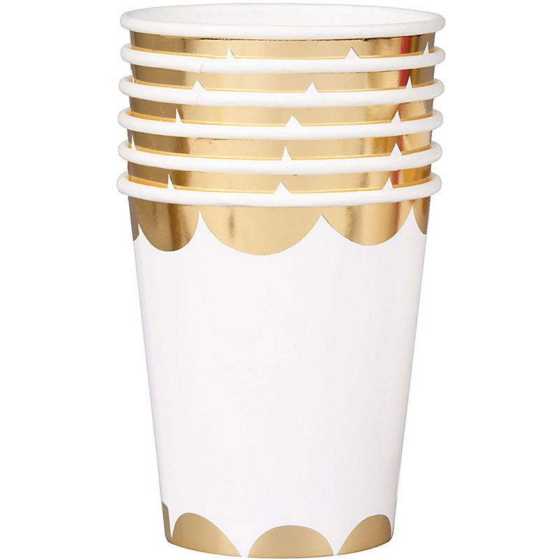 gold-scallop-paper-party-cup