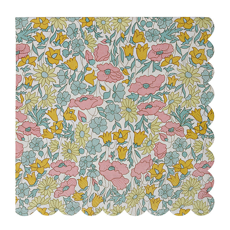 liberty-london-floral-scallop-paper-napkin-party
