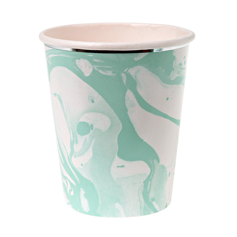 marbleized-paper-party-cup-blue