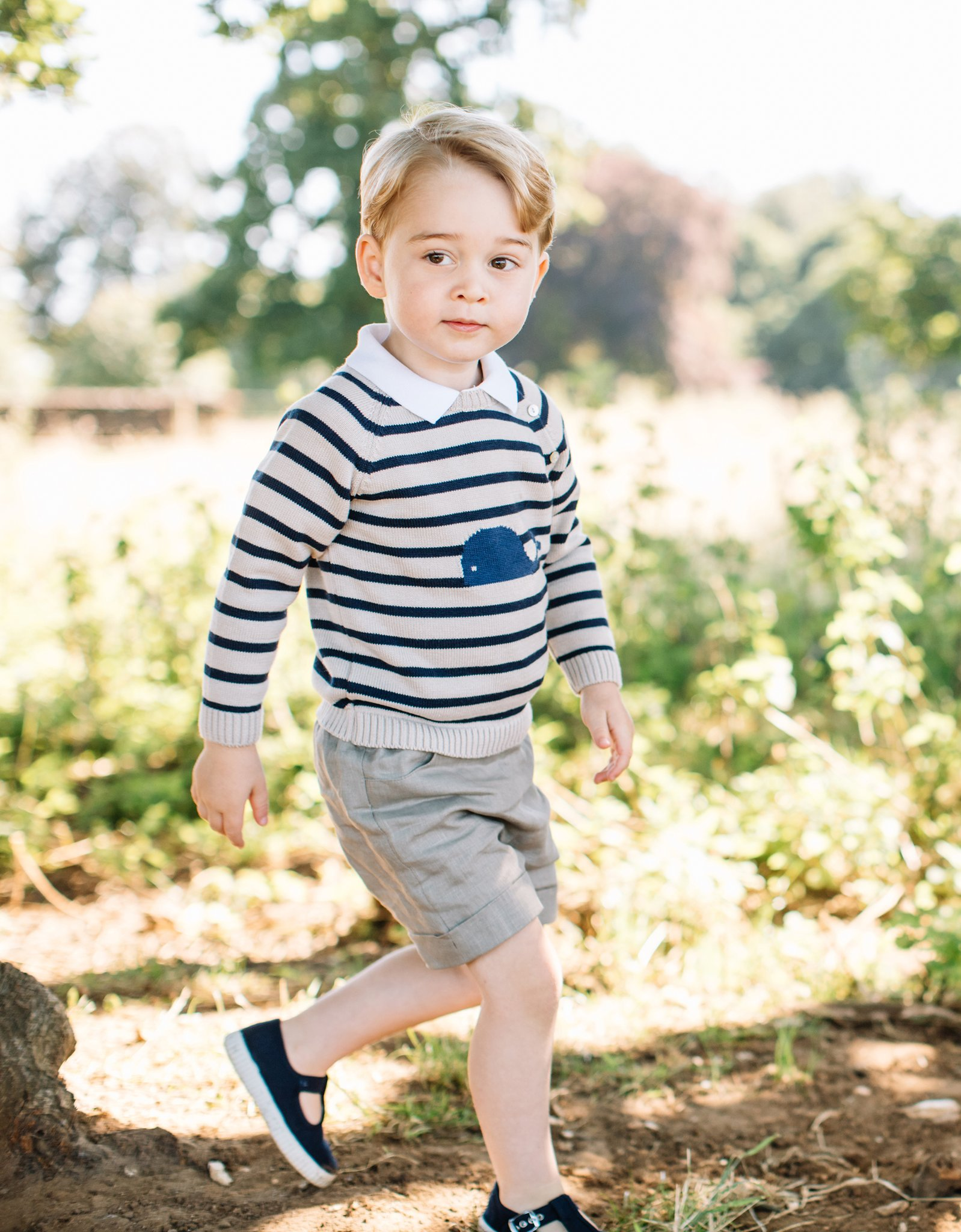 Happy third birthday, Prince George!