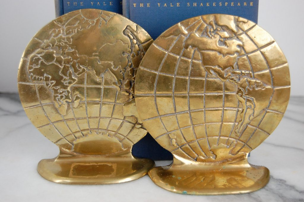 vintage-globe-world-earth-brass-bookends